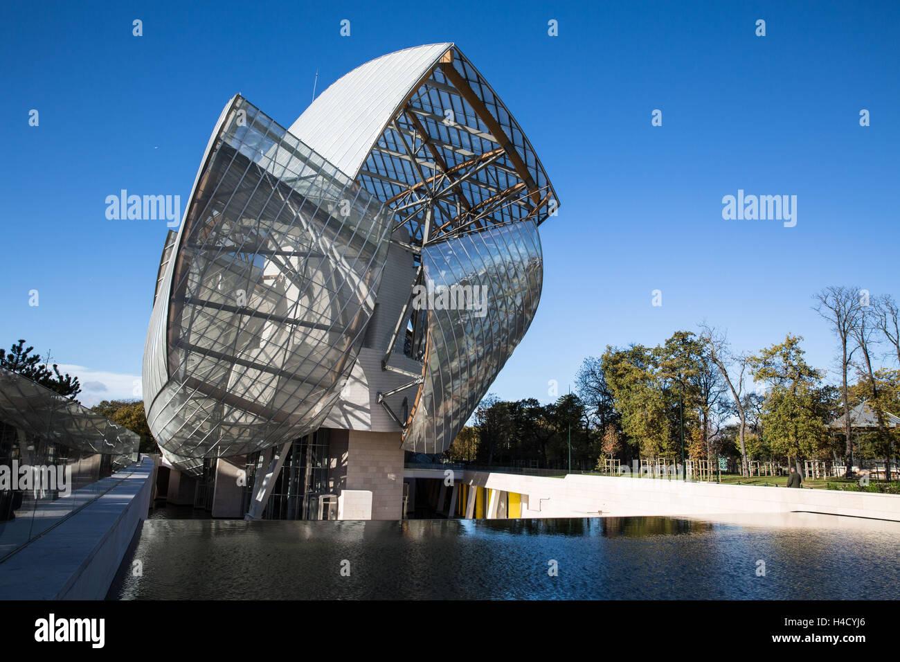 Europe, France, Paris, Fondation Louis Vuitton Stock Photo