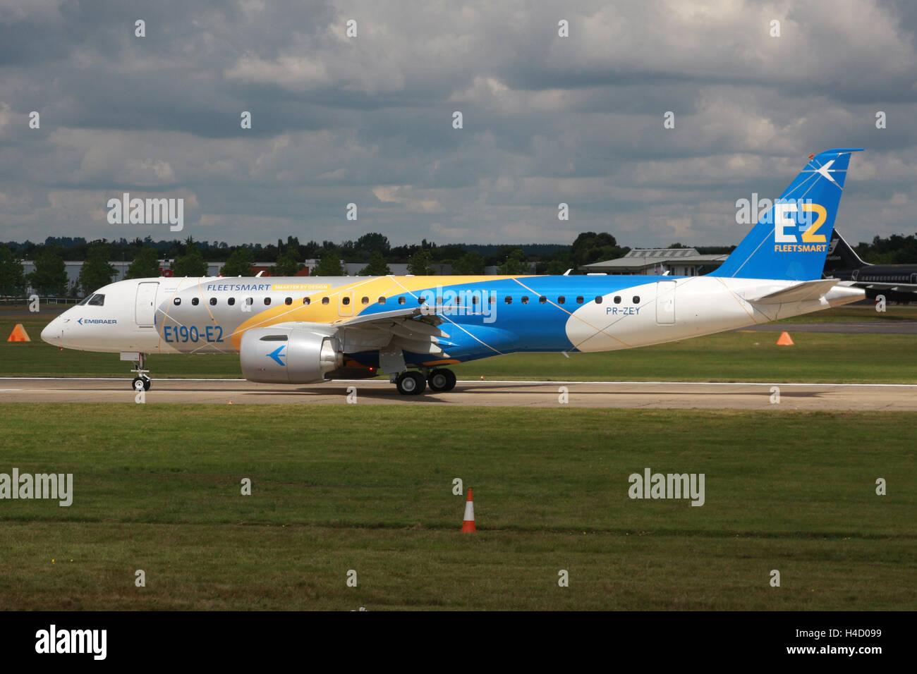 EMBRAER E190 - Stock Image