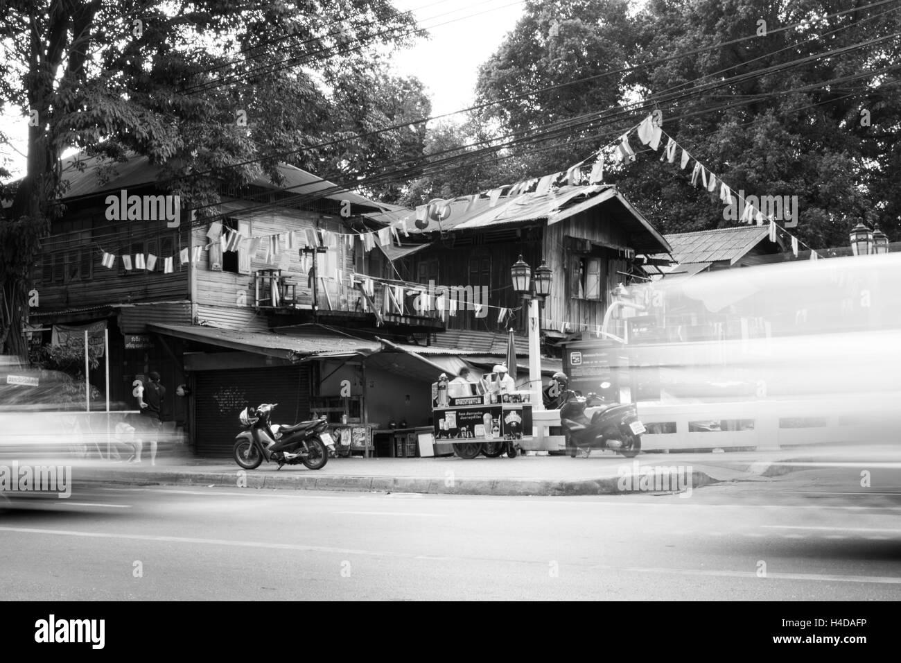 Traffic in Bangkok Stock Photo