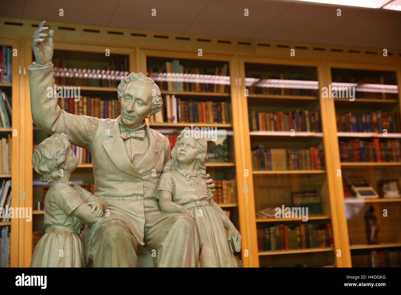 Hans Christian Anderson Statue - Stock Image