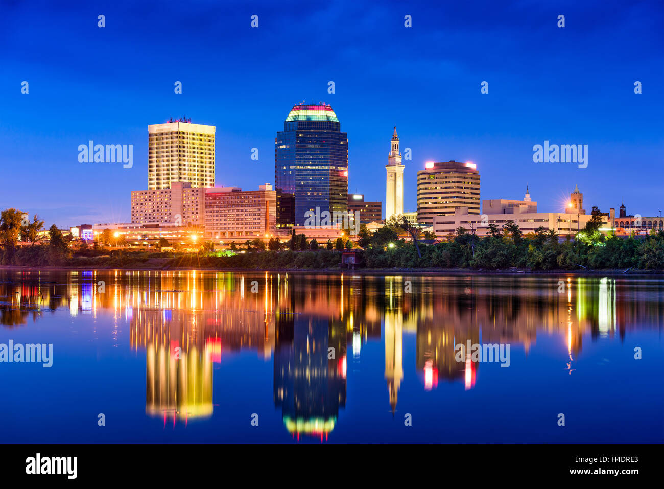 Downtown Springfield Missouri Skyline Wiring Diagrams 10 Pickup The Tail Lightswiring Harnessback Togetherwire Colors Stock Photos Rh Alamy Com St Louis