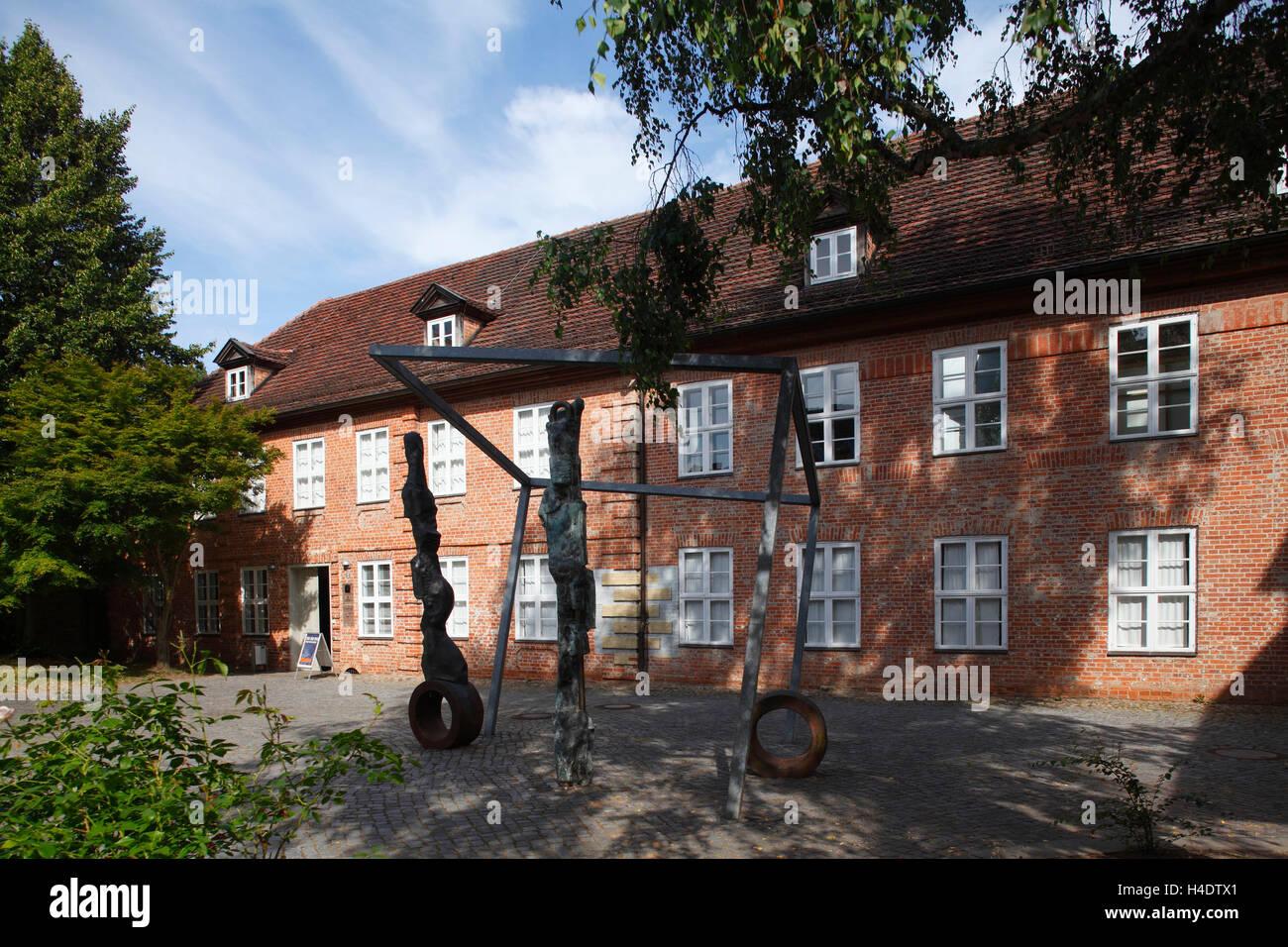 Schelfstadt with cultural forum Schleswig - Holstein house, Schwerin, Mecklenburg-Western Pomerania, Germany, Europe Stock Photo