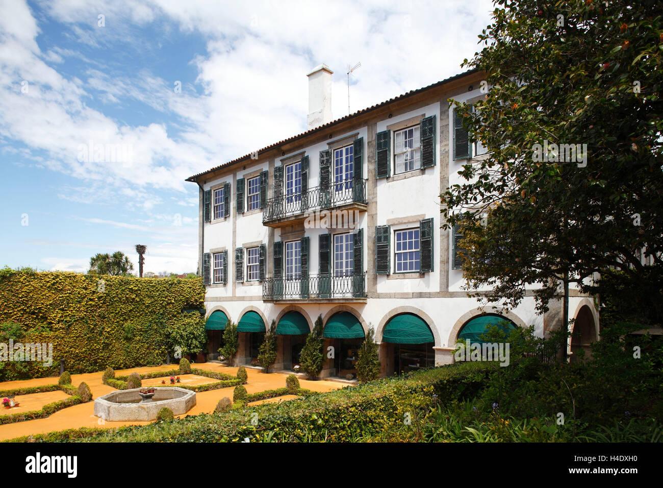 Museu and Villa Romatico, Porto, district of Porto, Portugal, Europe - Stock Image
