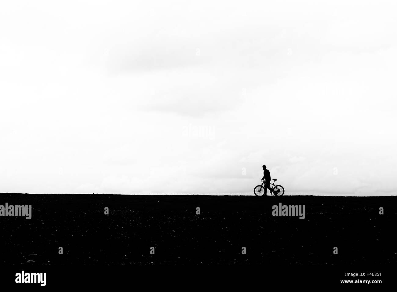 Cyclist. - Stock Image