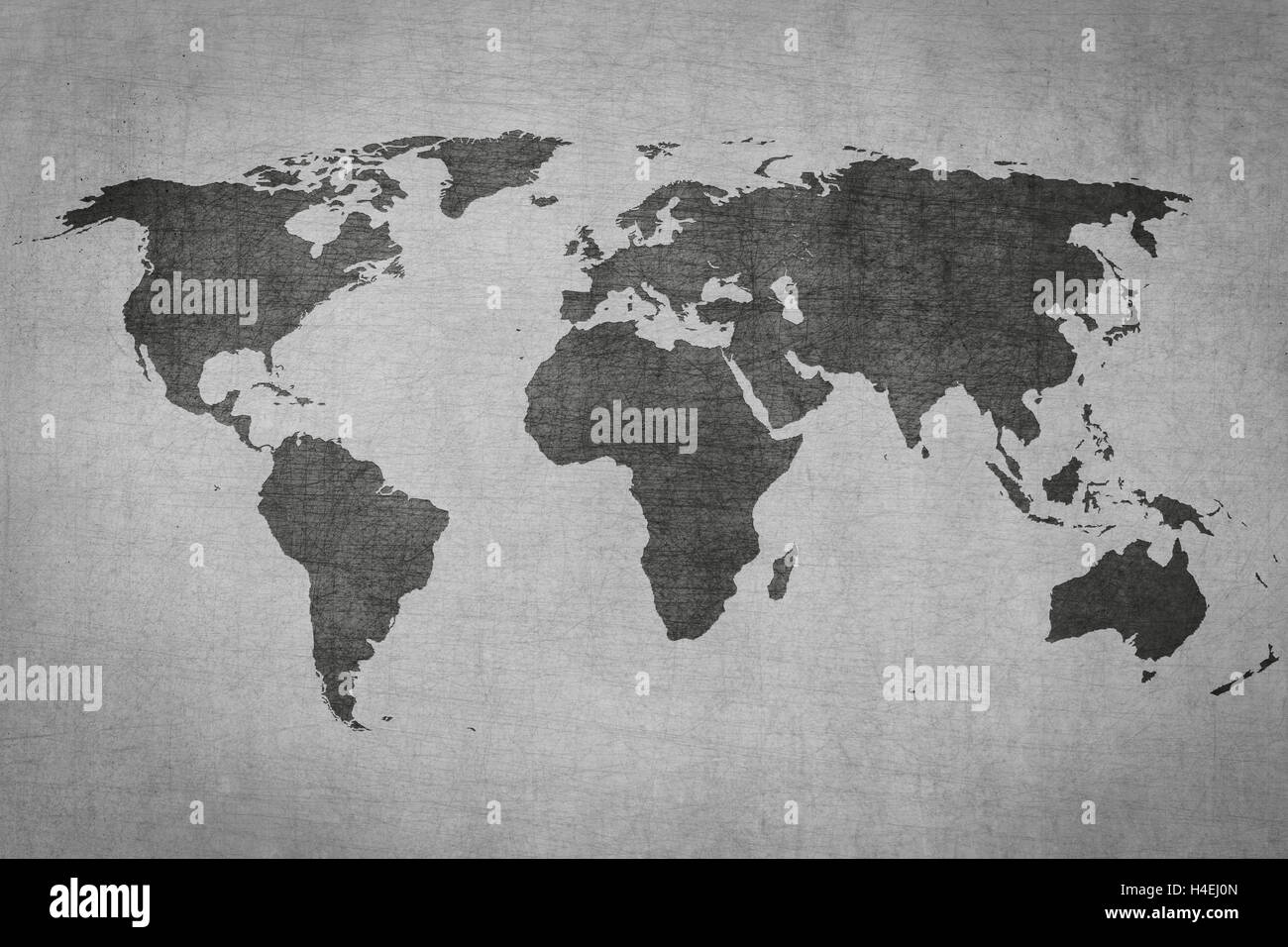 Pen world travel stock photos pen world travel stock images alamy textured vintage world map on grey grungy background stock image gumiabroncs Images