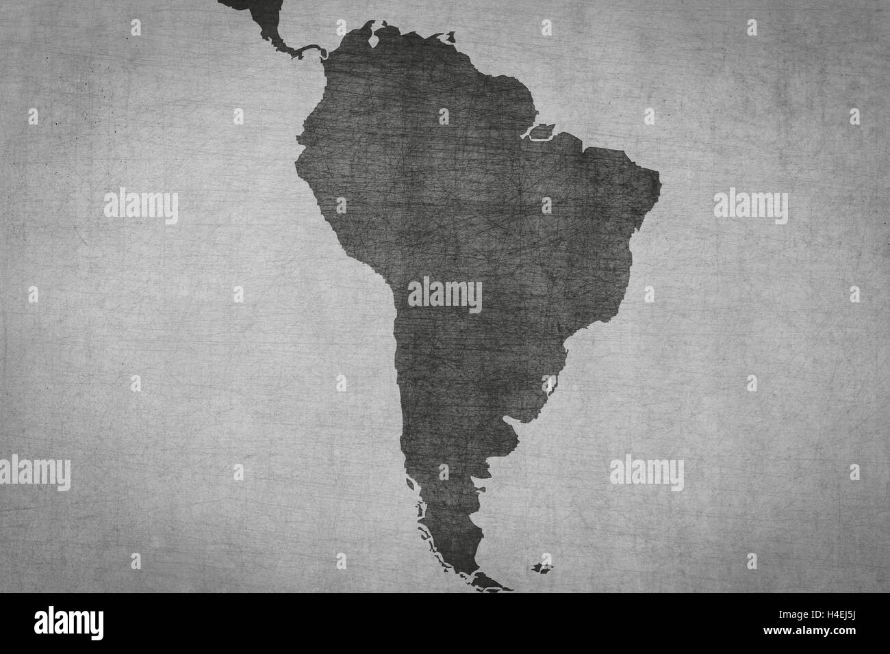 Latin America South America Map.South America Map On Vintage Background Grungy Texture Latin