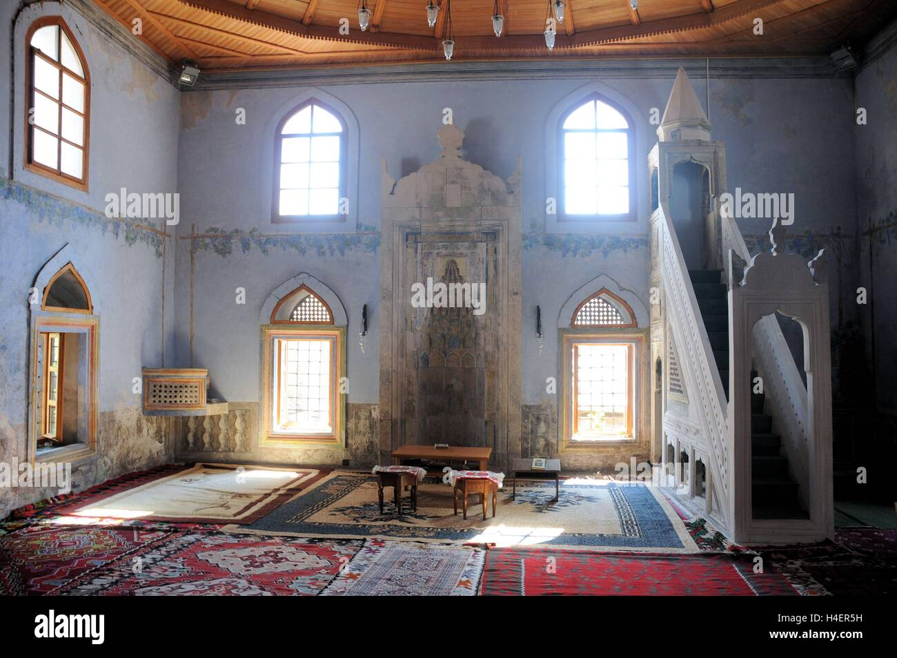 A mosque in Mostar Bosnia Herzegovina. - Stock Image