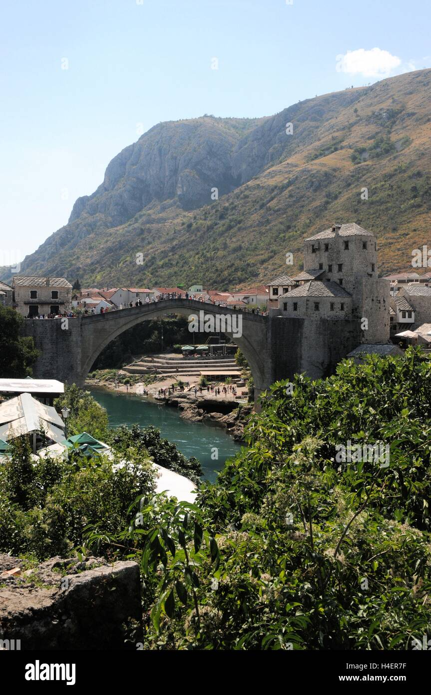 Mostar, Bosnia  Herzegovina, - Stock Image