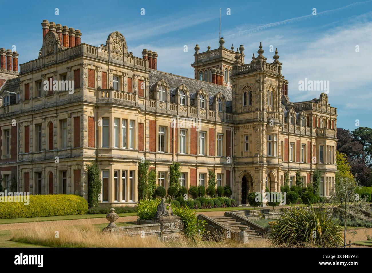 Somerleyton Hall Gardens Norfolk England Stock Photos & Somerleyton ...