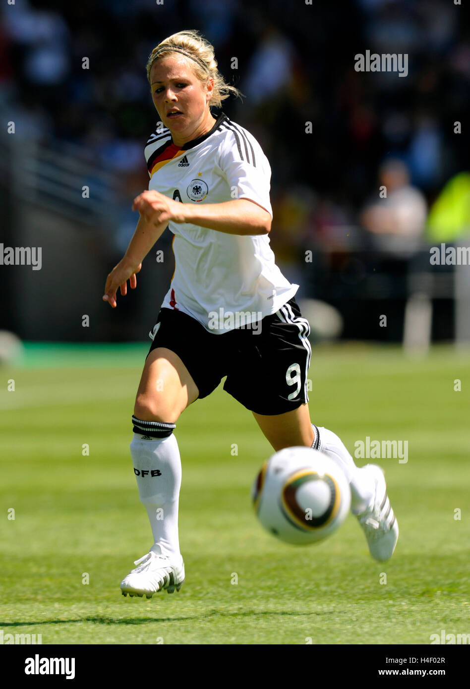 Svenja Huth, FIFA U-20 Women's World Cup 2010, Group A, Germany - Costa Rica 4:2 in the Ruhrstadion stadium, - Stock Image