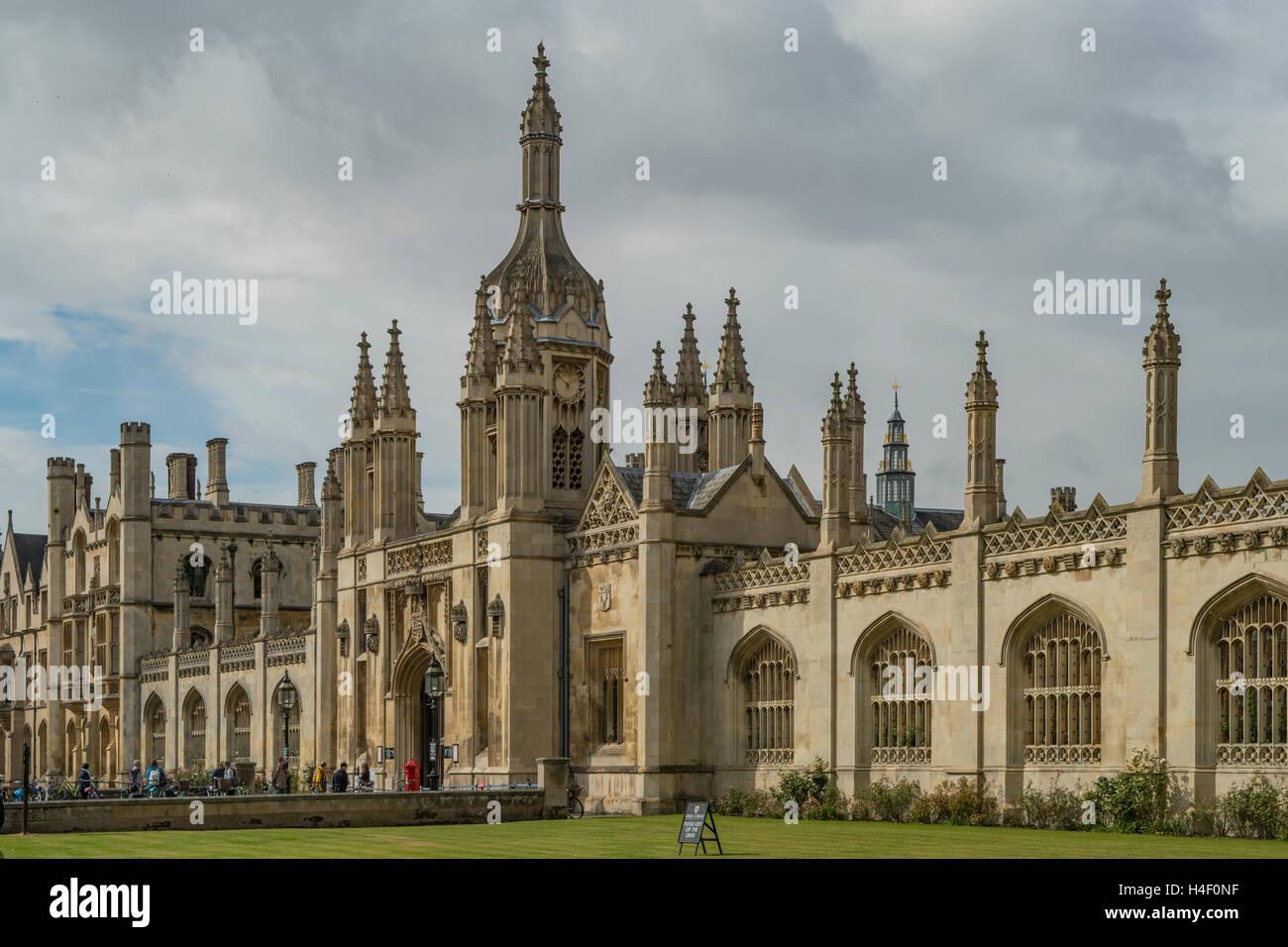 King's College, Cambridge, Cambridgeshire, England - Stock Image