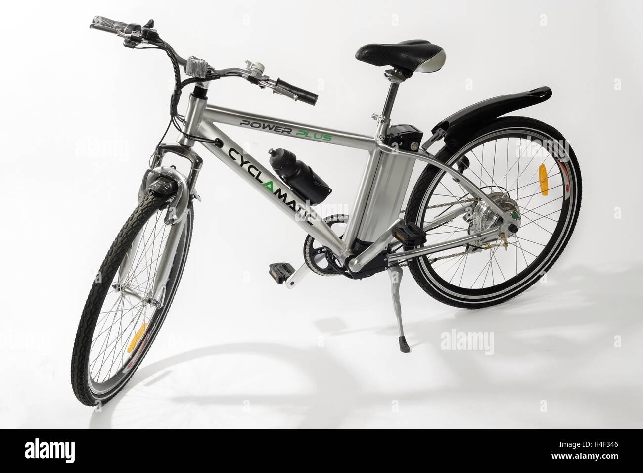 Battery powered electric bicycle, Cyclamatic - Stock Image