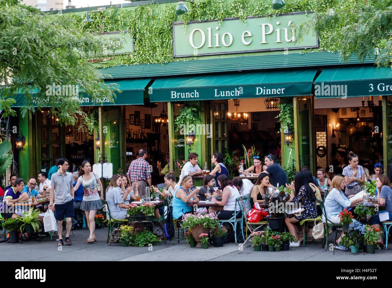 Manhattan New York City Nyc Ny West Village Olio E Piu