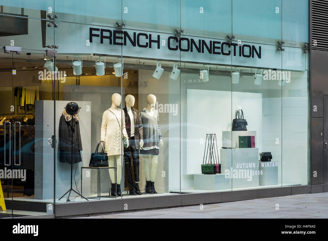 abcb25c8d77 French Connection shop window, Covent Garden, London, England, U.K ...