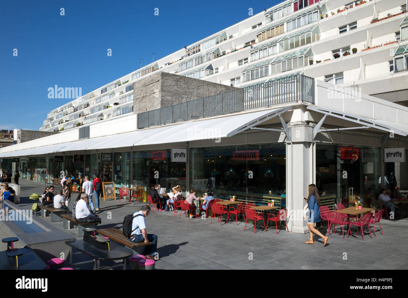 The Brunswick Centre in Bloomsbury, Camden, London, England, UK - Stock Image
