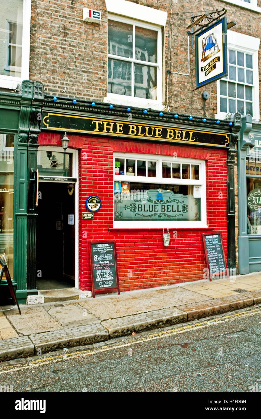 The Blue Bell, Fossgate, York - Stock Image