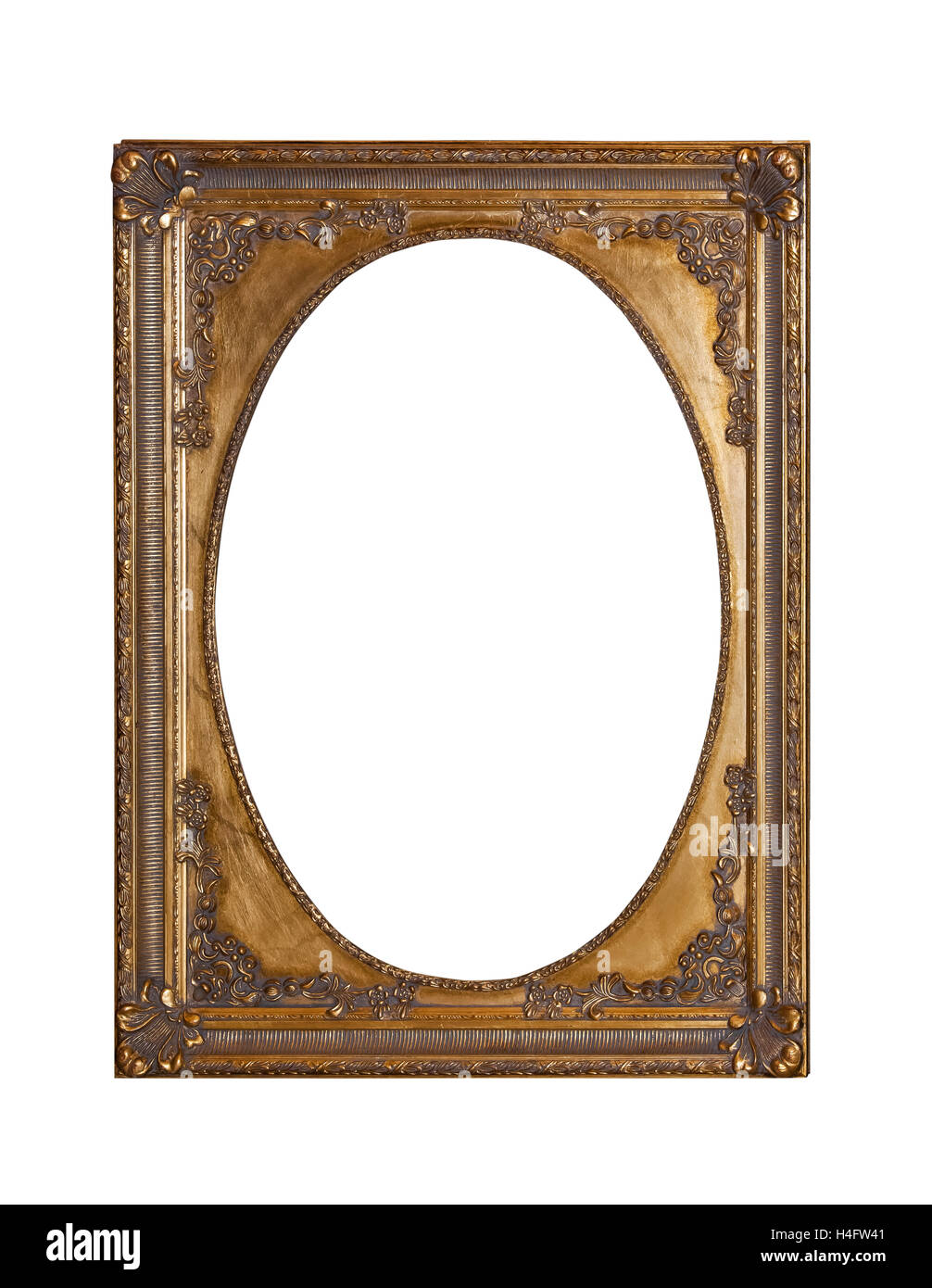 Antique gold frame for painting Stock Photo: 123280193 - Alamy