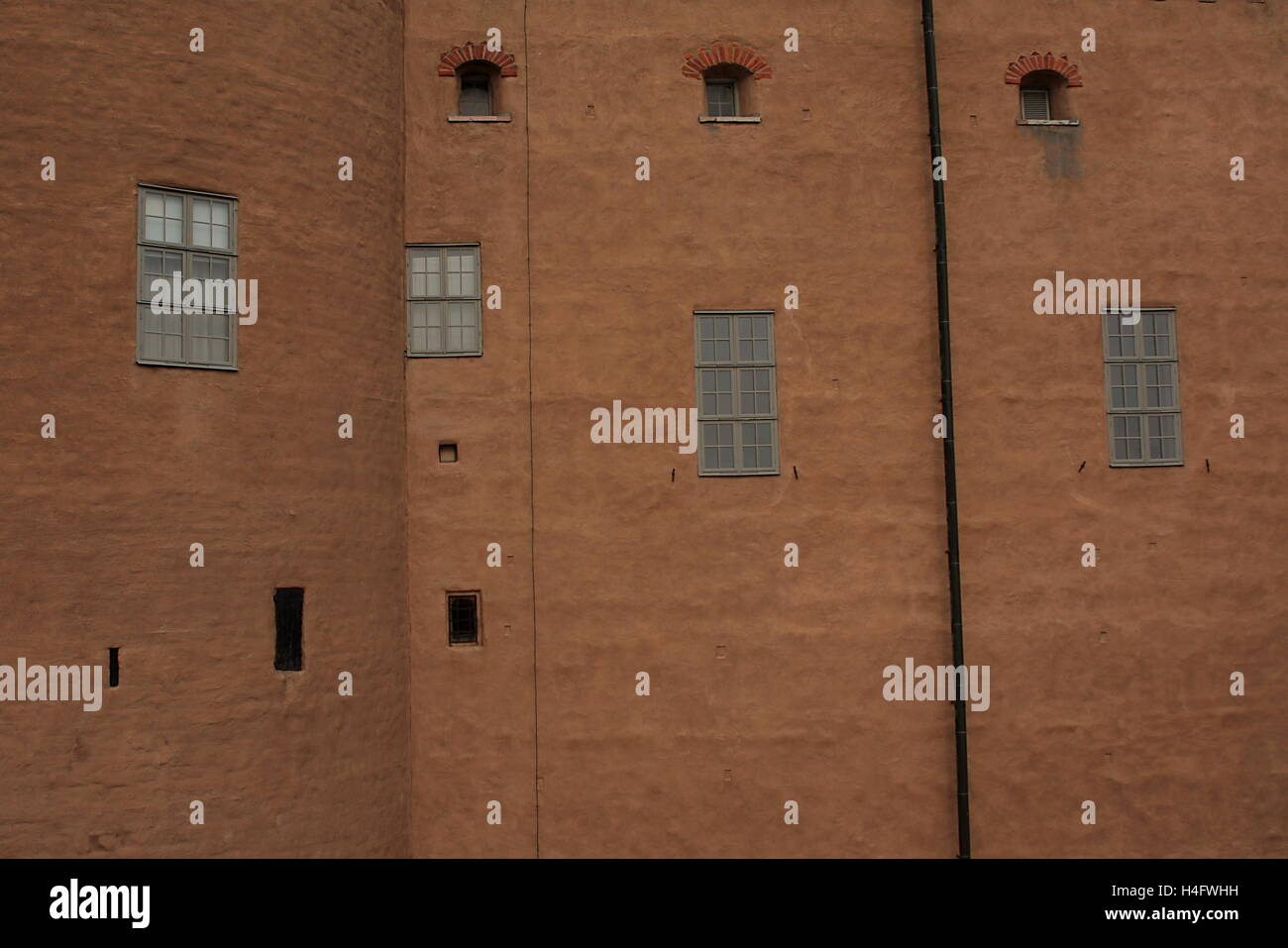 Detail of Kalmar castle - Stock Image