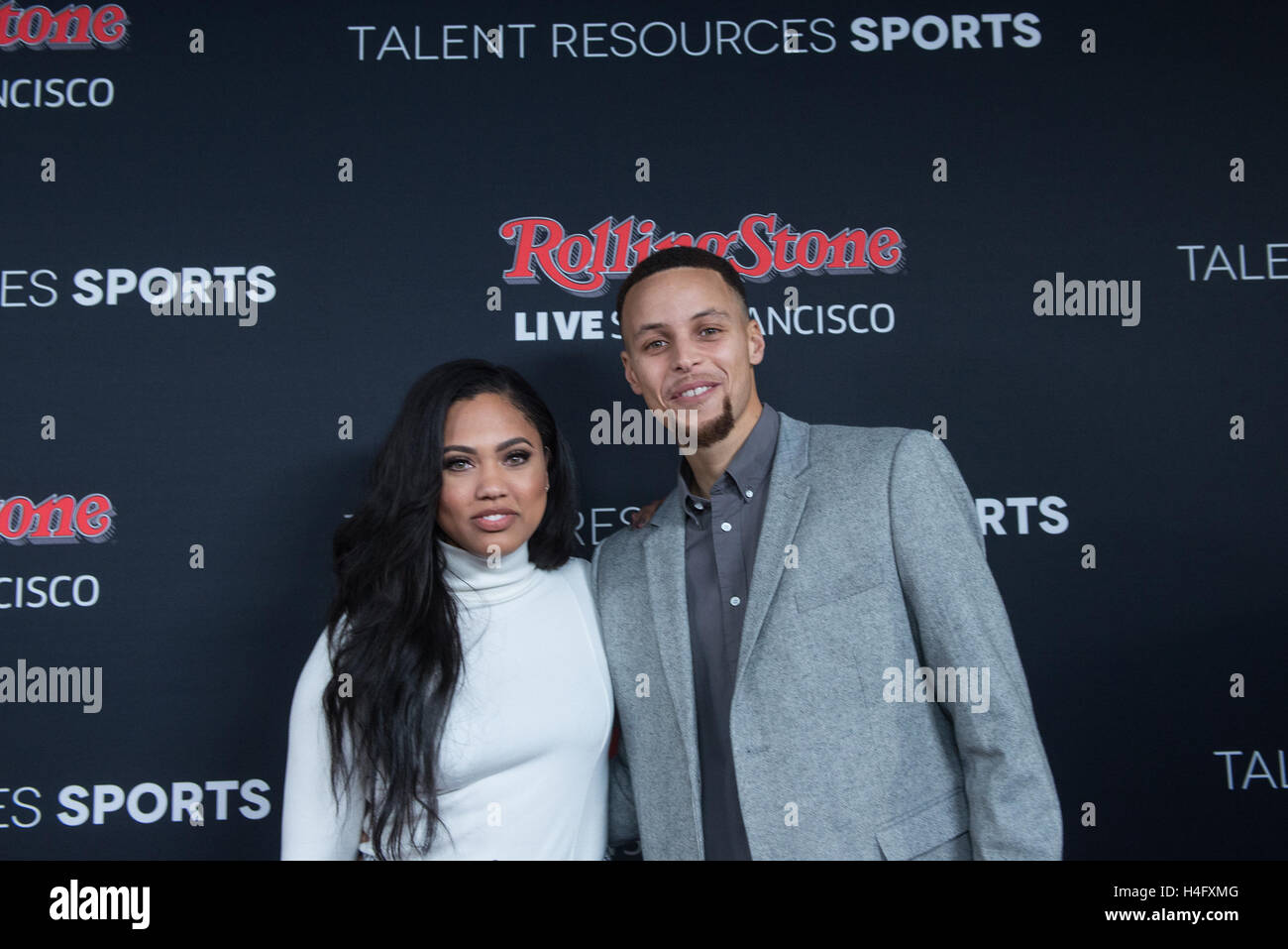 Stephen Curry And Wife Ayesha Walk The Red Carpet At Rolling Stone Party