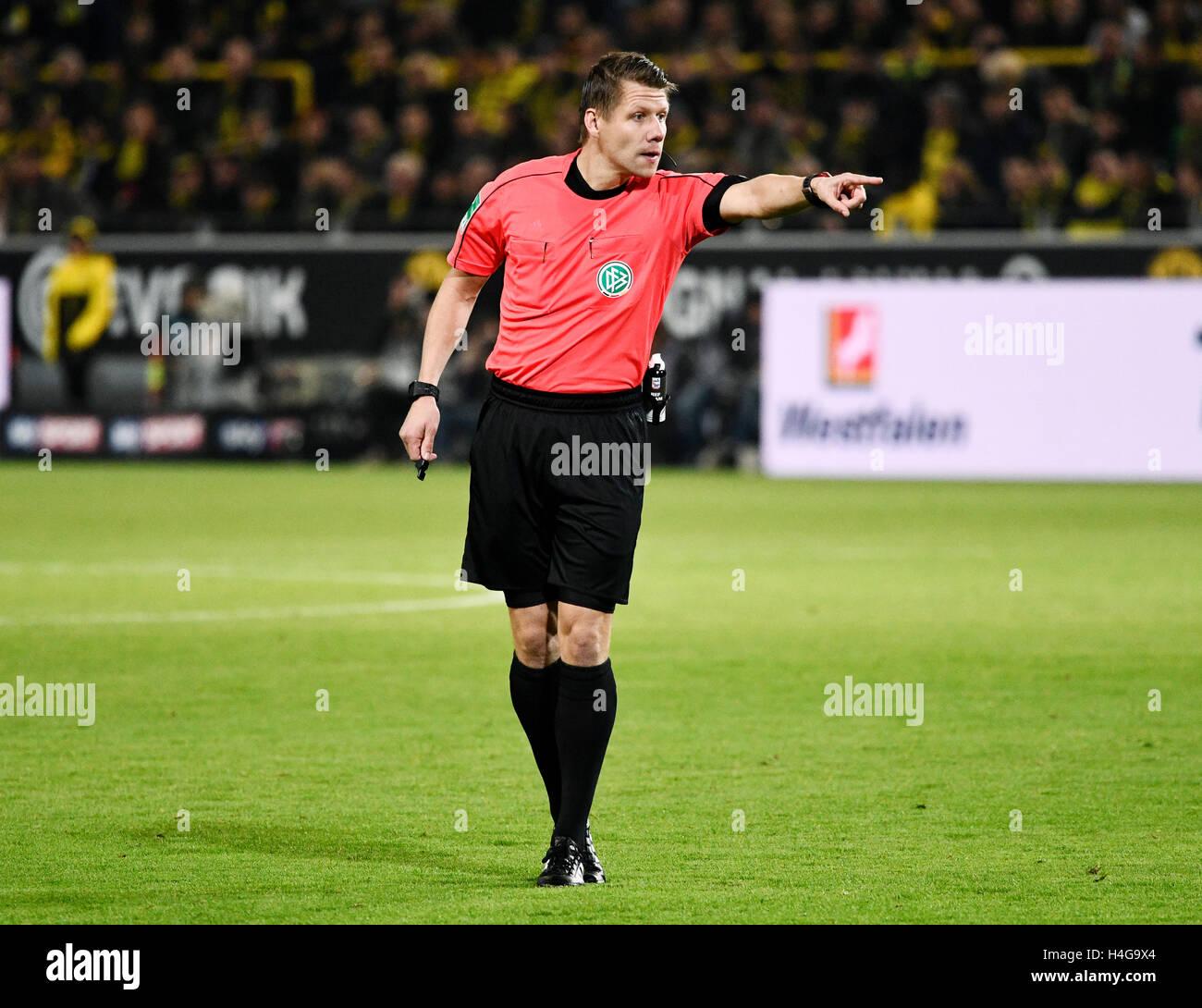 Signal-Iduna Arena Dortmund, Germany 14.10.2016, 1st Football Bundesliga Season 2016/2017 matchday 7, Borussia Dortmund - Stock Image