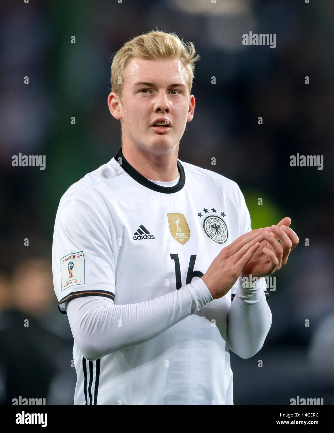 b141da9d425 Germany s Julian Brandt during the World Cup qualification match between  Germany and the Czech Republic in Hamburg