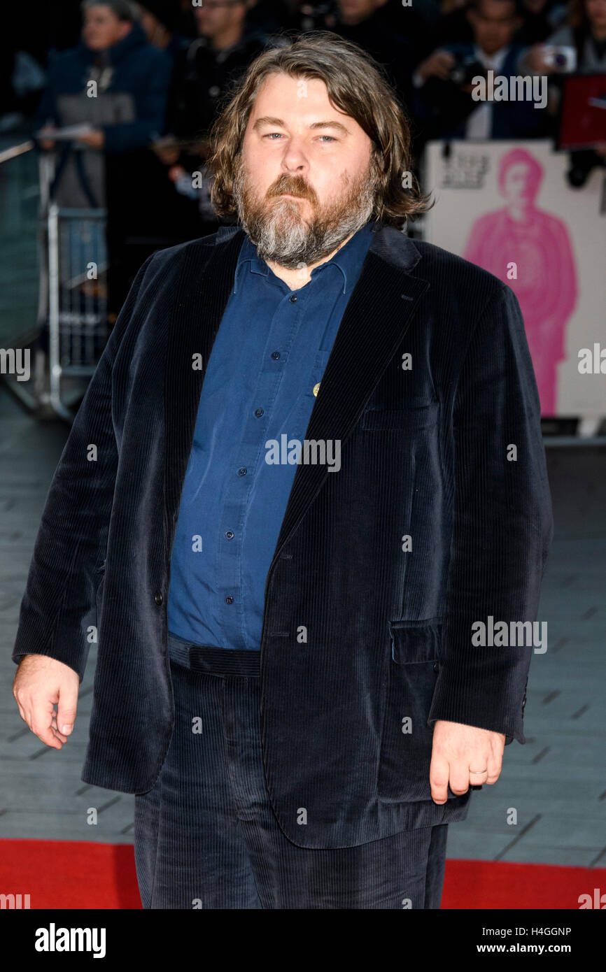 London, UK. 16th October, 2016. Ben Wheatley attends the film premiere of Free Fire at the 60th London Film Festival. - Stock Image