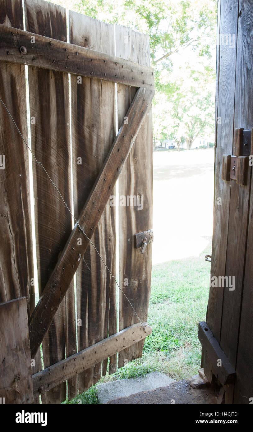 'Shawneetown Barn #2' - Stock Image