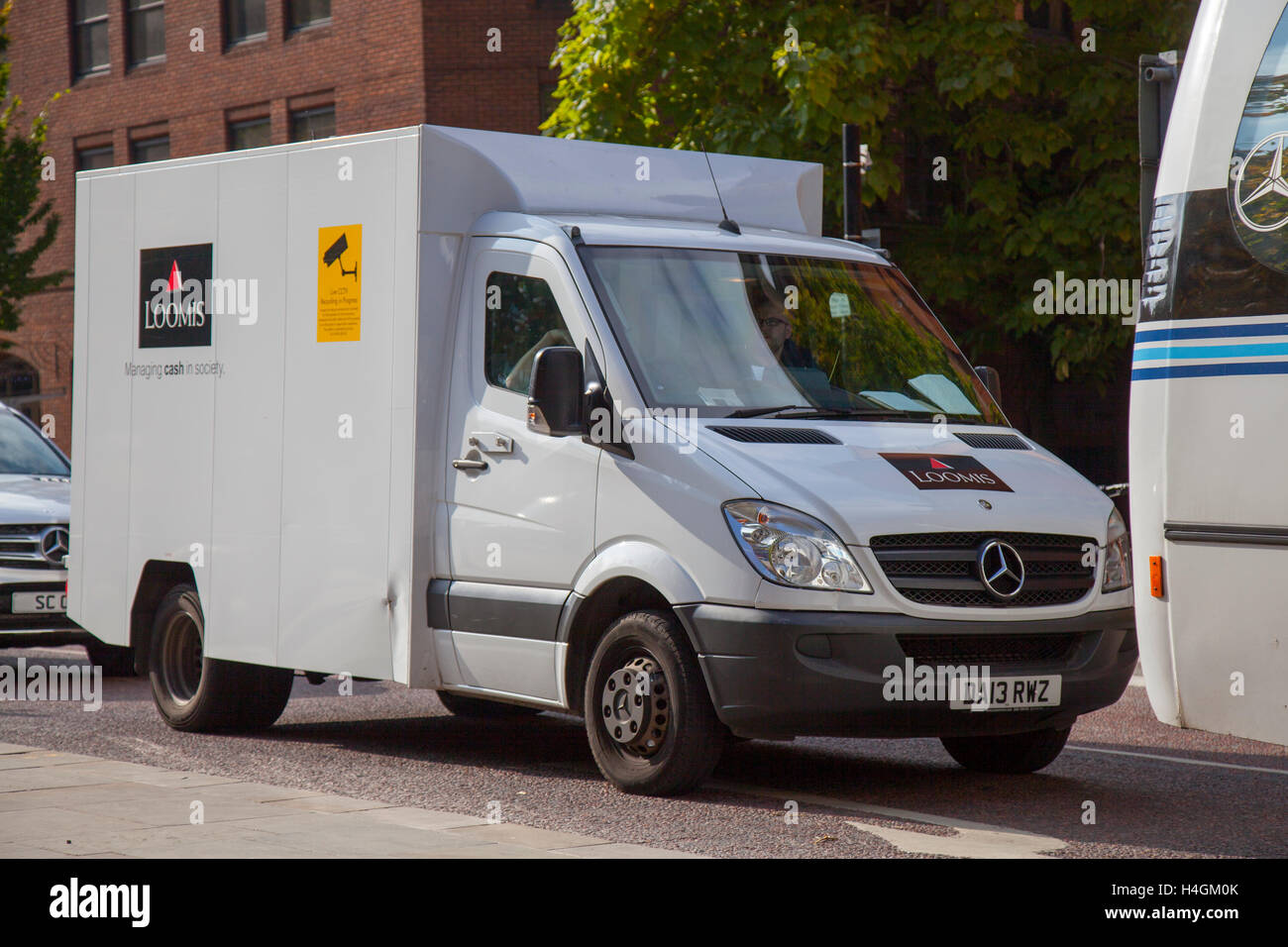 098499183de131 Loomis Security Van Stock Photos   Loomis Security Van Stock Images ...