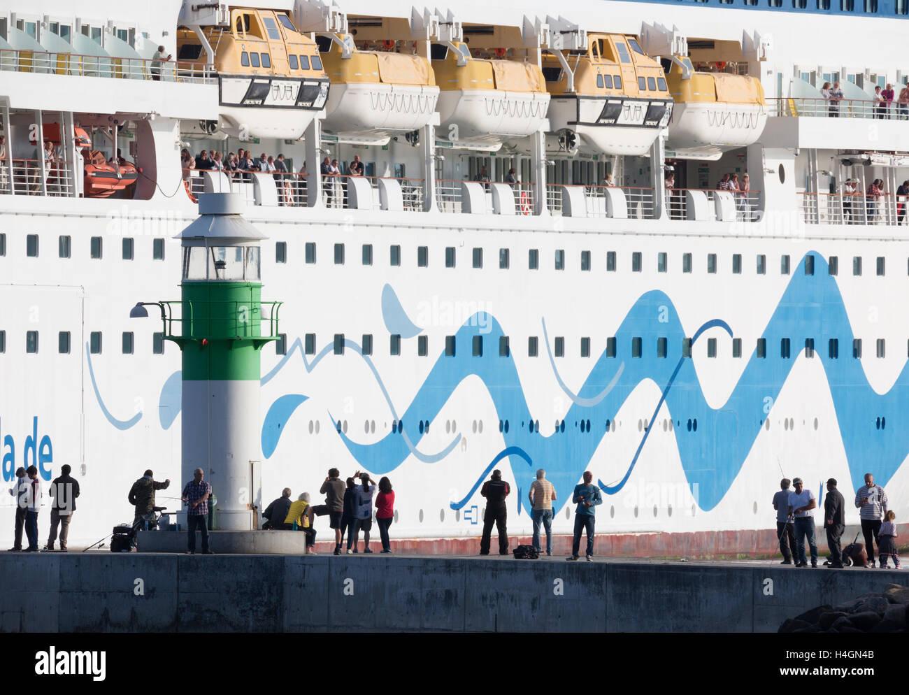 Aida Cruises. - Stock Image