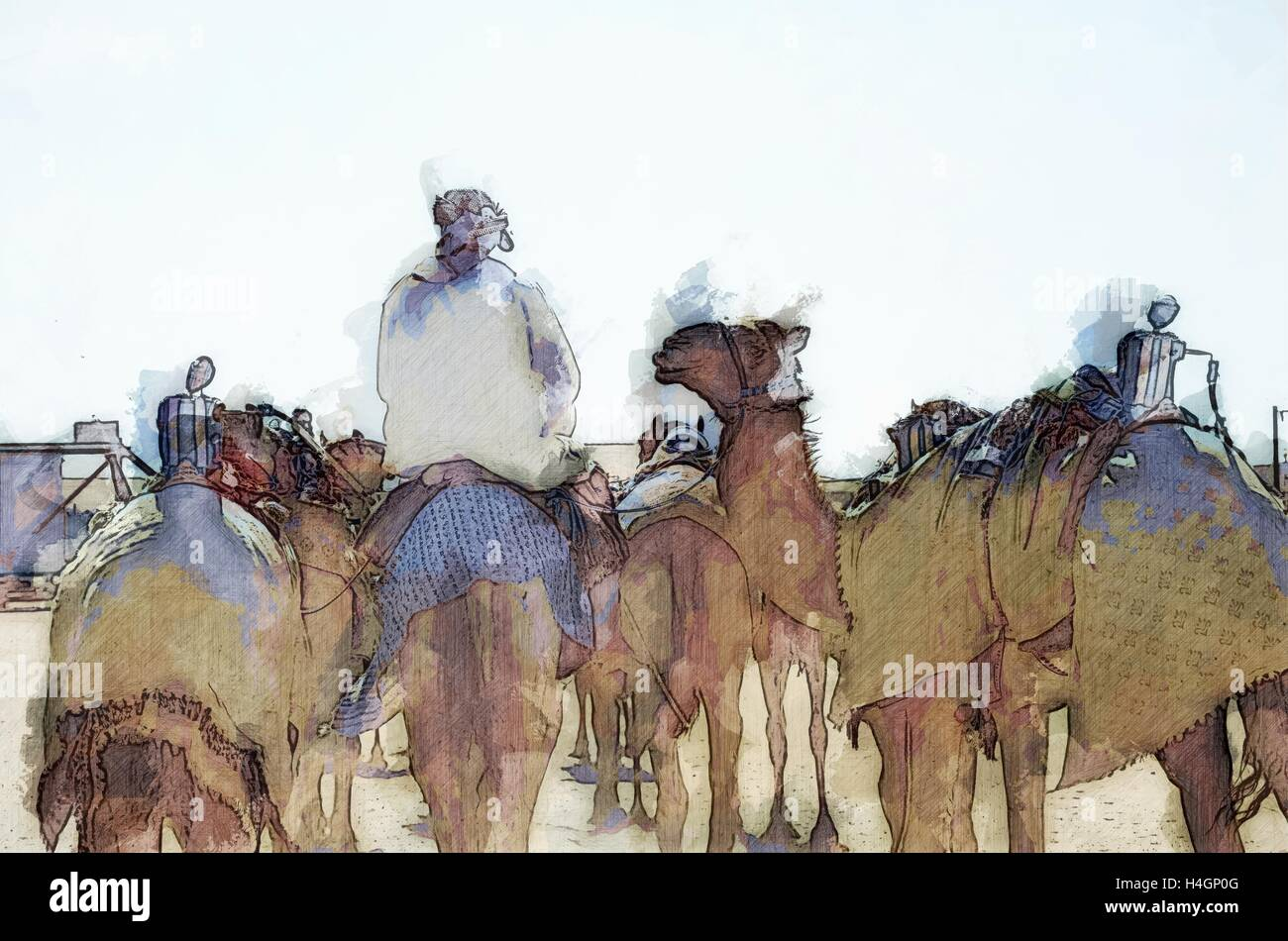 Camel Drawing Stock Photos & Camel Drawing Stock Images - Alamy