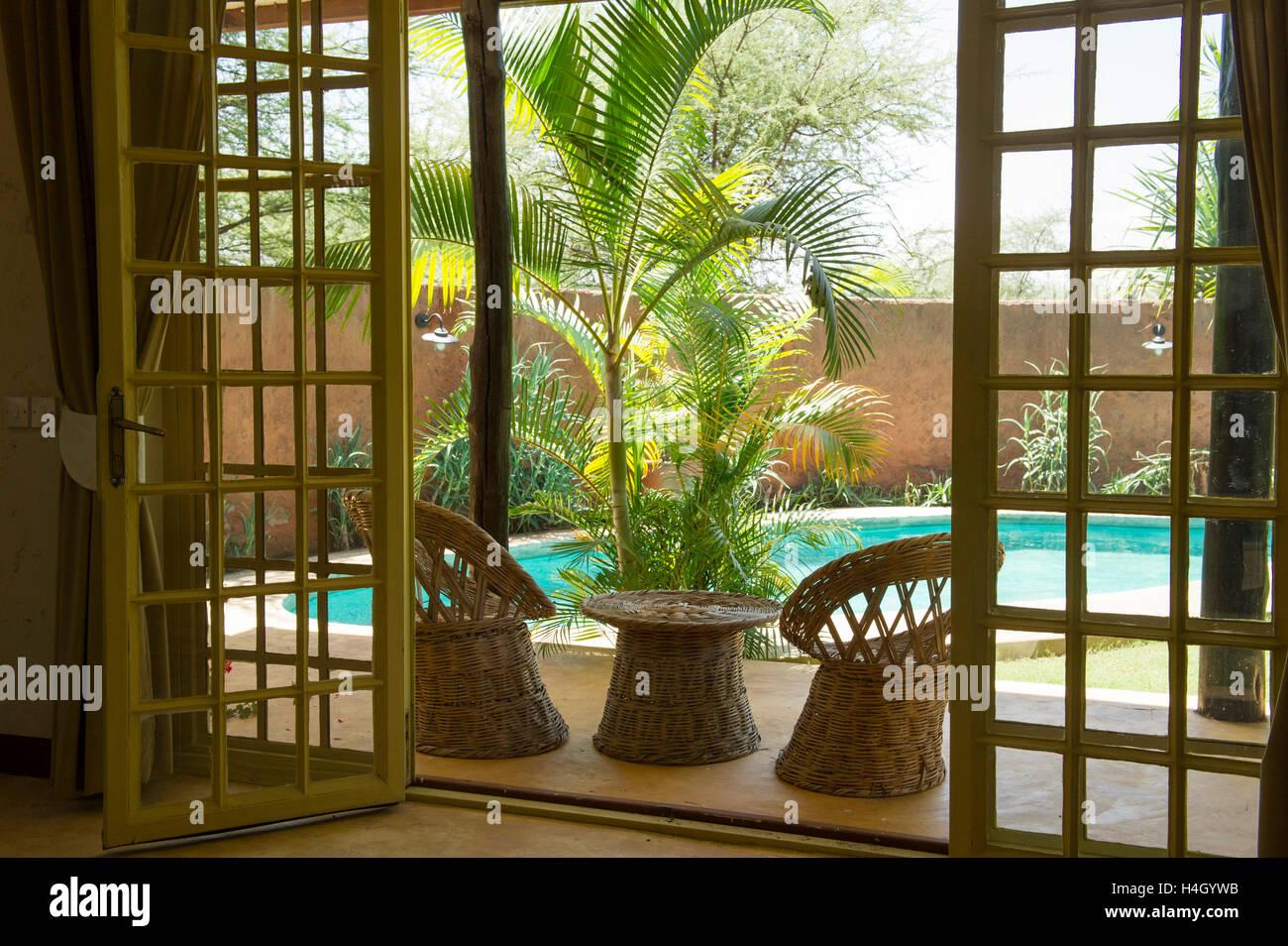 Kili Villa, Arusha, Tanzania - Stock Image