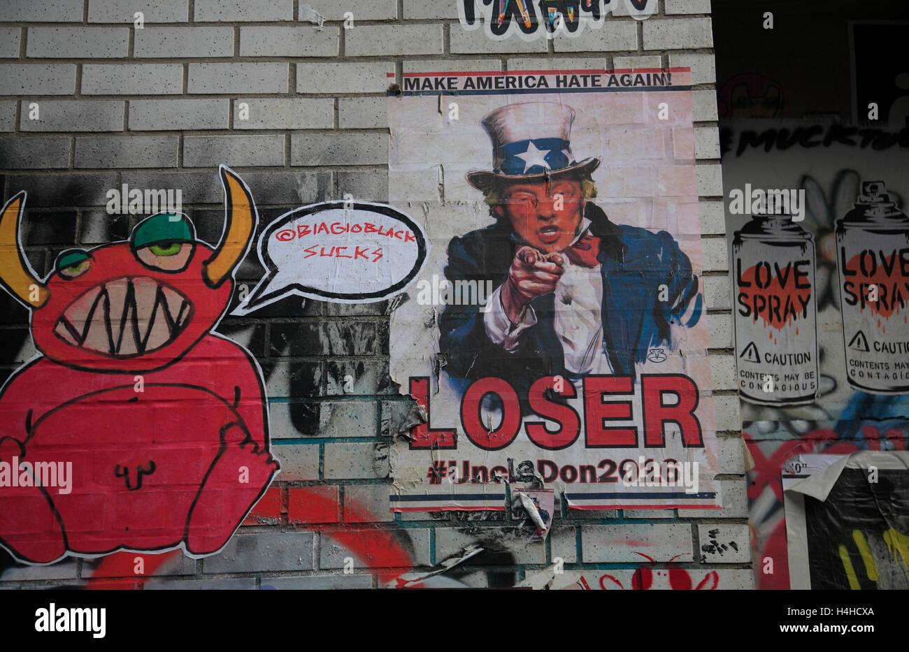 Election 2016, New York, USA - Stock Image