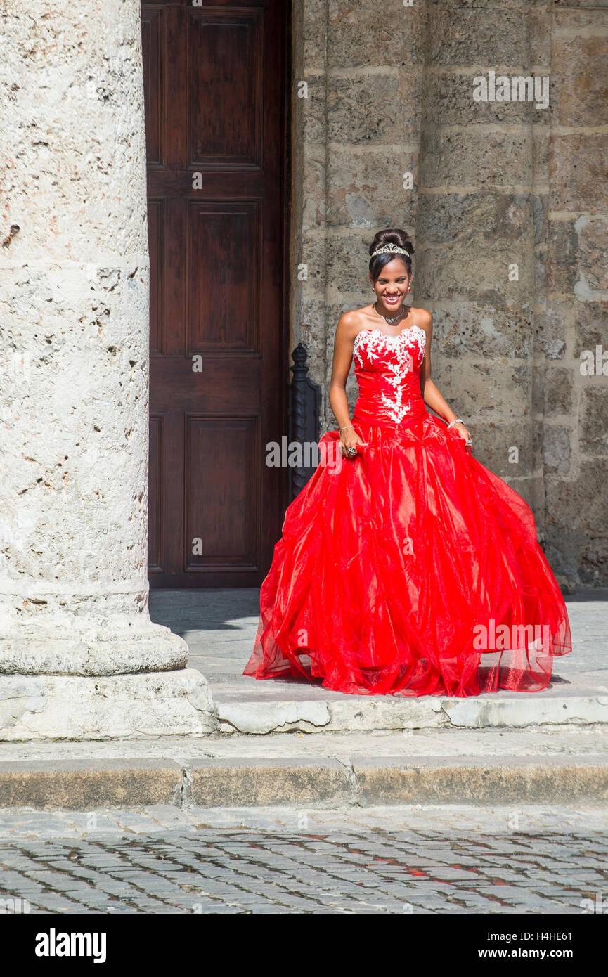 Cuban Party Dress