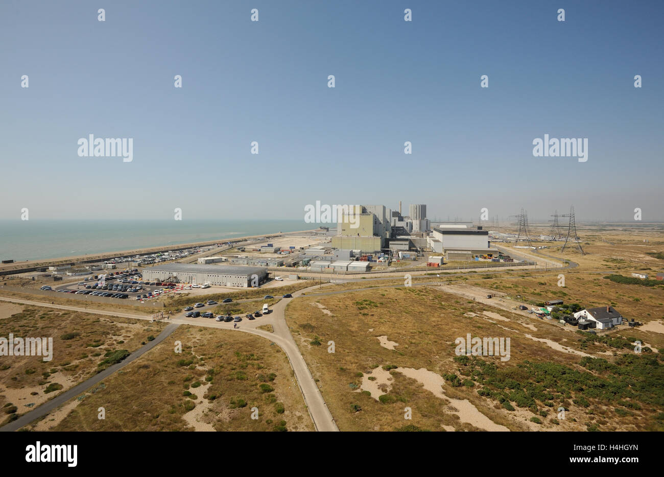Dungeness Nuclear Power Station. Dungeness, Kent UK - Stock Image