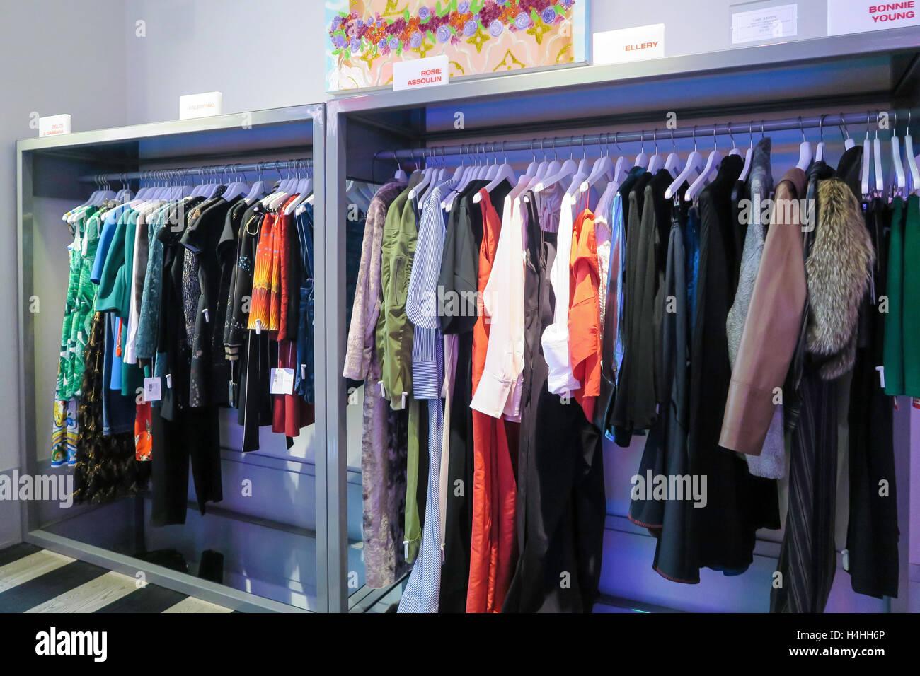 Kirna Zabete Designer Shop In Stock Photos & Kirna Zabete