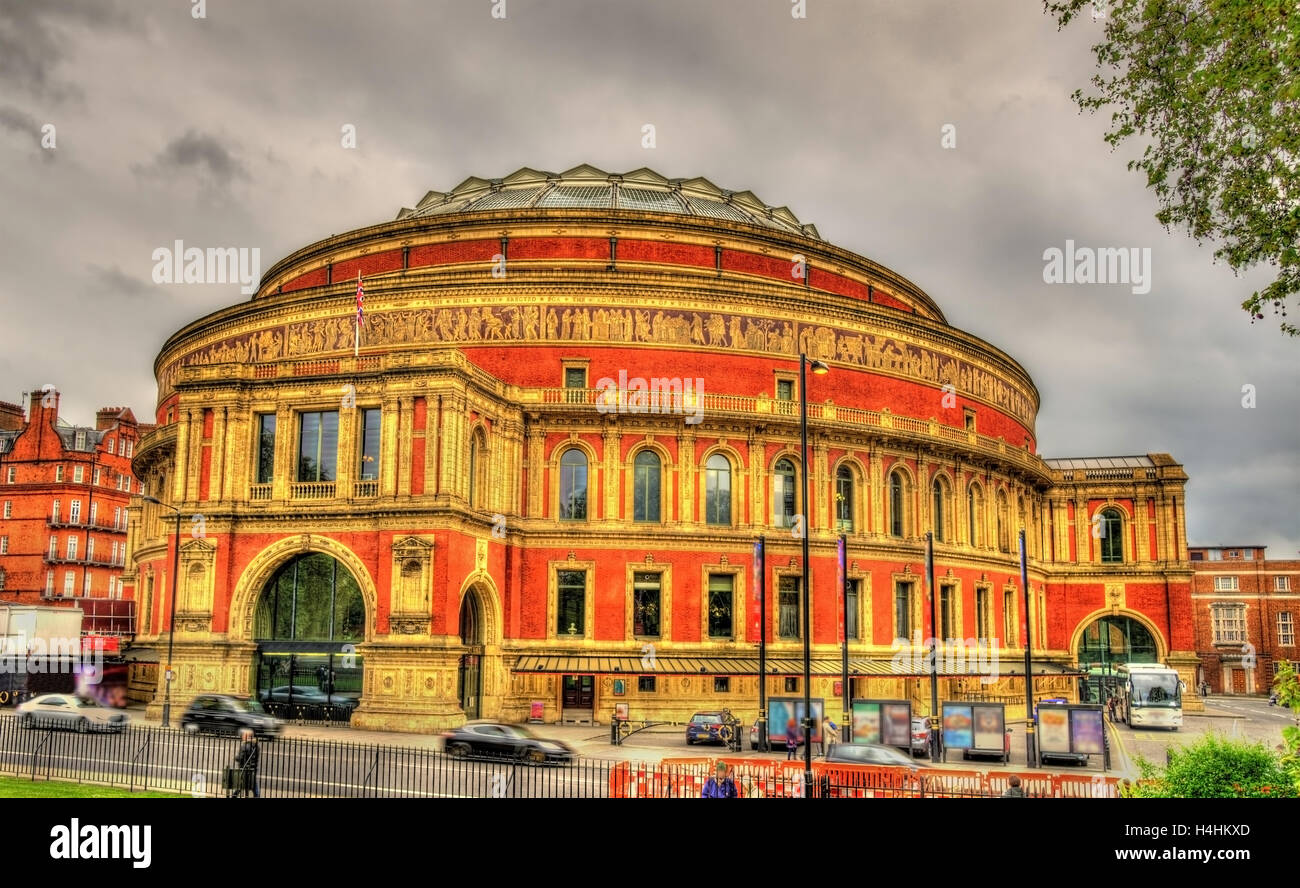 The Royal Albert Hall, an arts venue in London - Stock Image