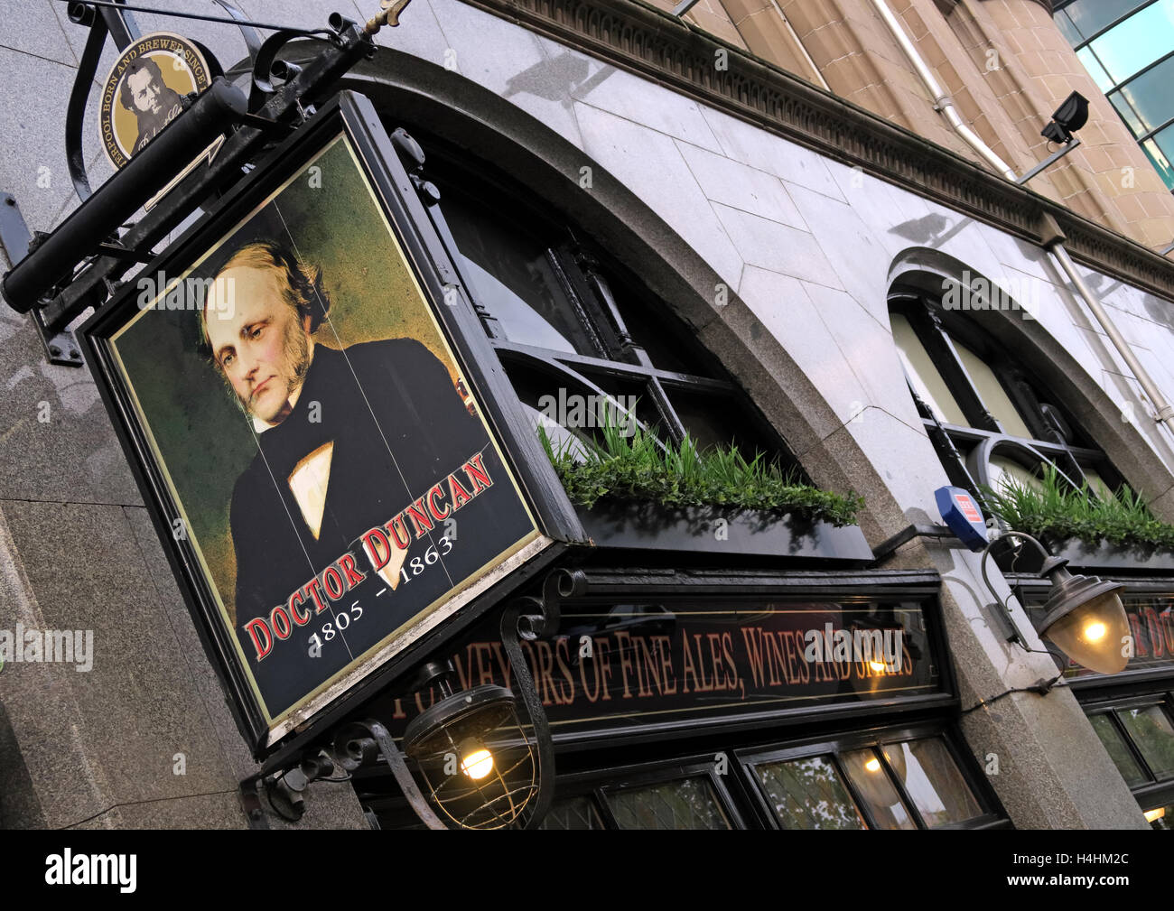 Doctor Duncans Pub,St Johns Ln,Liverpool,England,UK - Stock Image