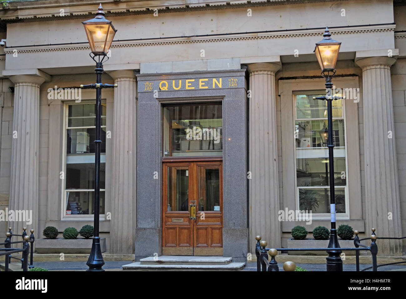 Queen Insurance Buildings,Queen avenue,Castle St,Liverpool,England,UK - Stock Image