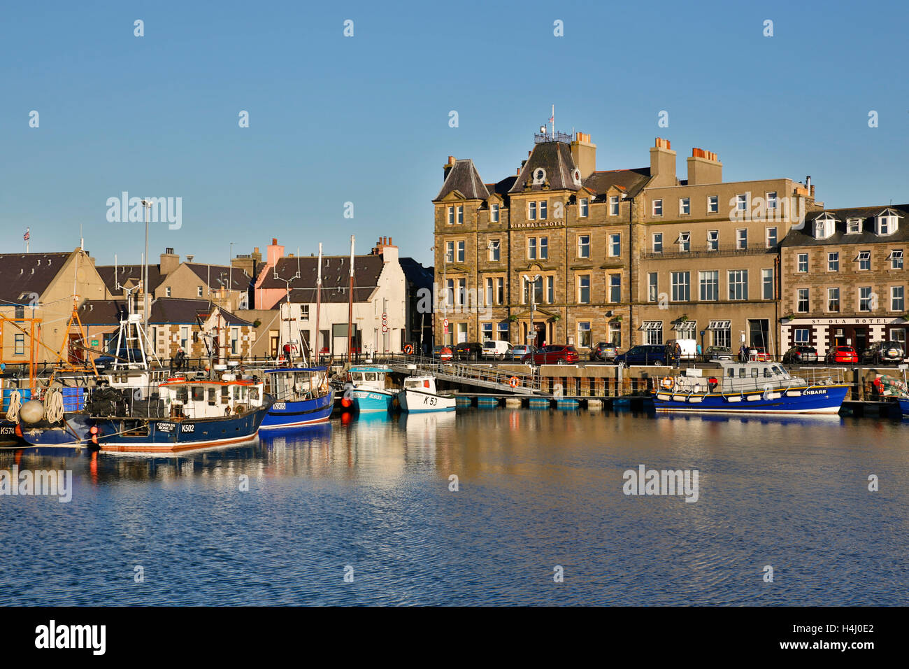 Kirkwall; Orkney; Scotland; UK - Stock Image