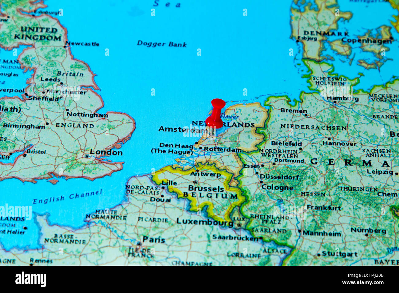 Map Pin Amsterdam Stock Photos Map Pin Amsterdam Stock Images