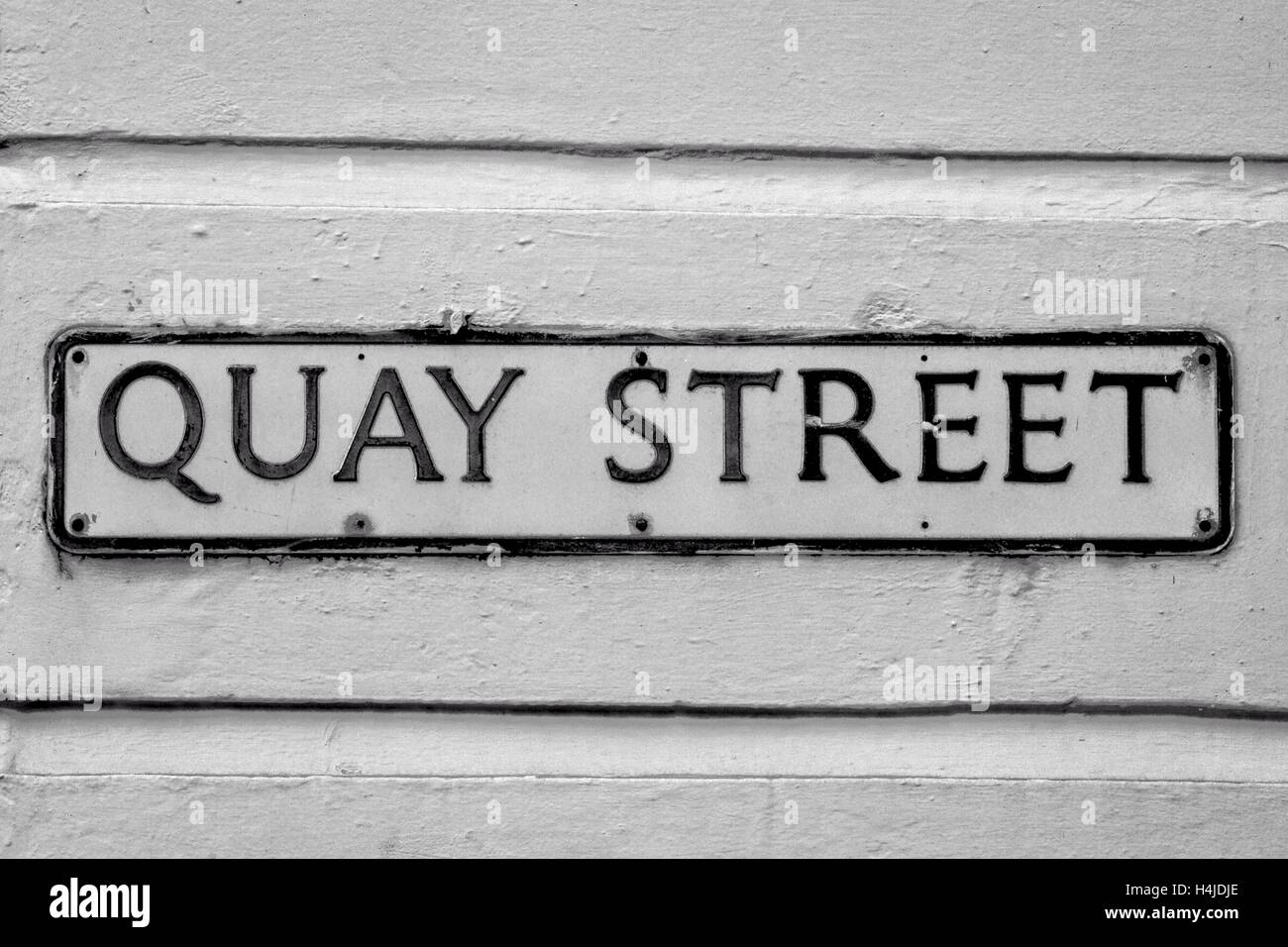 Manchester City street names and signs, Greater Manchester, UK - Stock Image