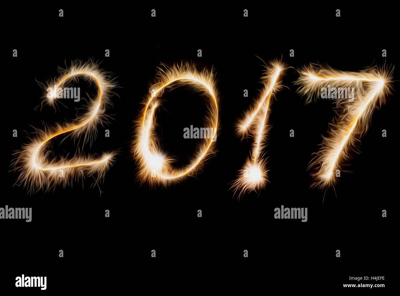 Картинки надпись с новым 2017 годом
