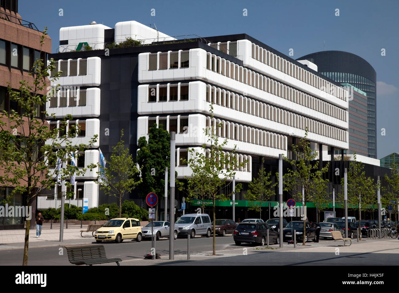 Dresdner Bank, Commerzbank, Dortmund, Ruhr area, North Rhine-Westphalia - Stock Image