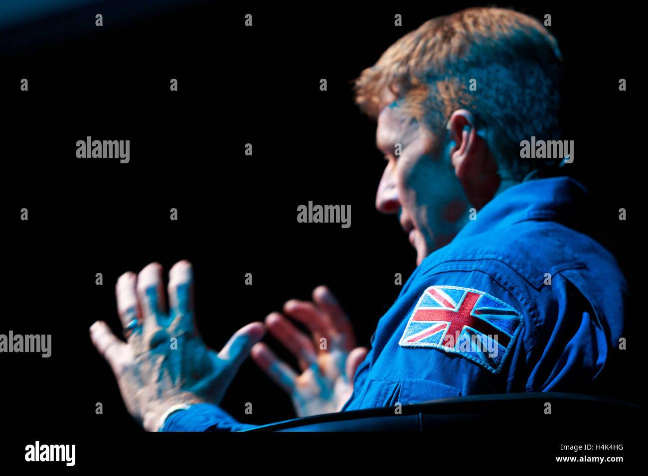 Edinburgh, UK. 17th October 2016. Edinburgh International Science Festival in partnership with European Space Agency - Stock Image