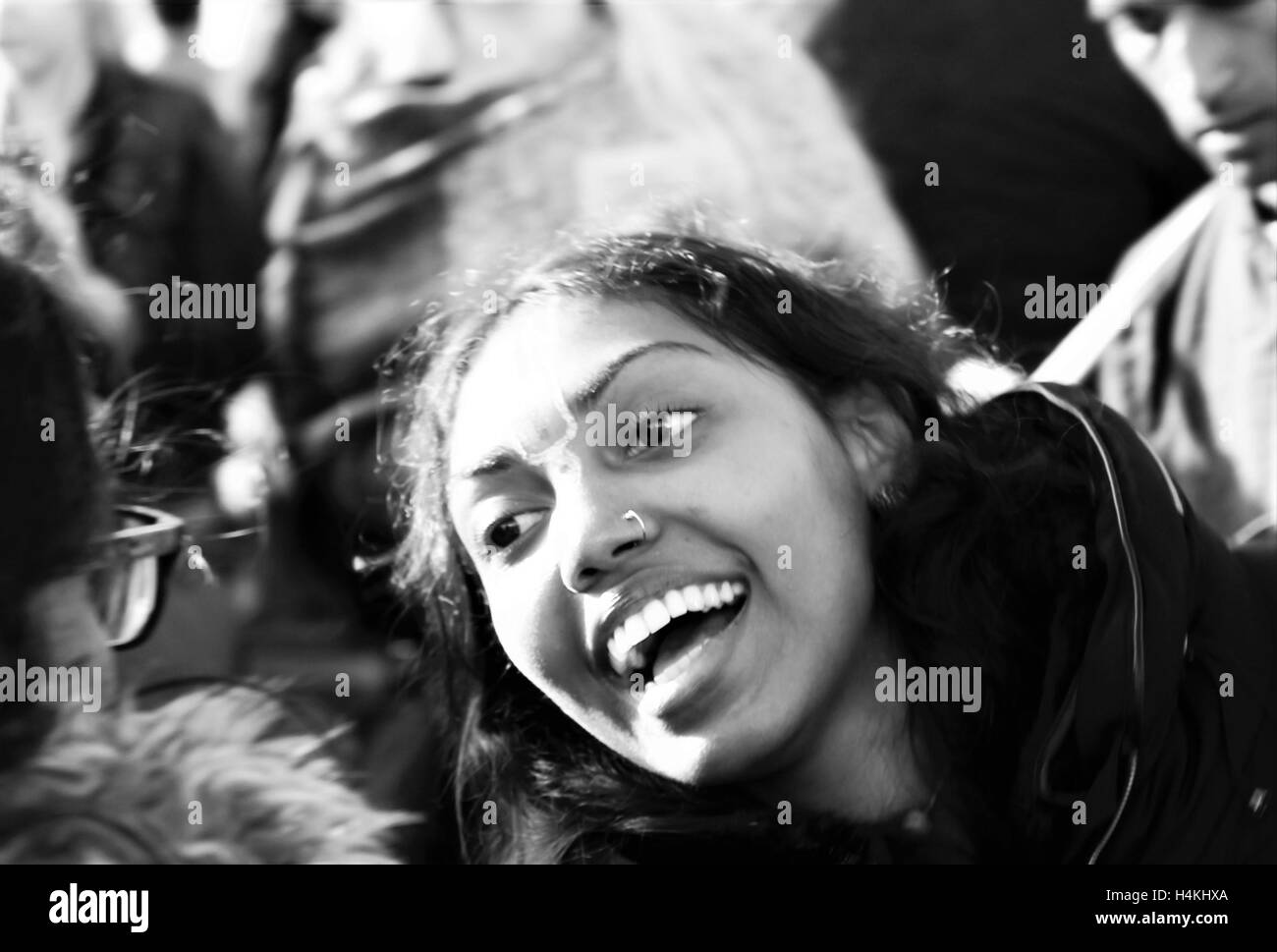 London, UK. 16th October, 2016. The Mayor of London Festival Of Dewali performers and scenes at Trafalgar Square - Stock Image