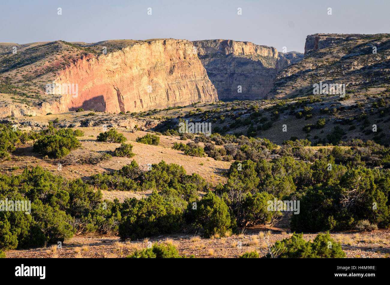 Bighorn Canyon National Recreation Area - Stock Image