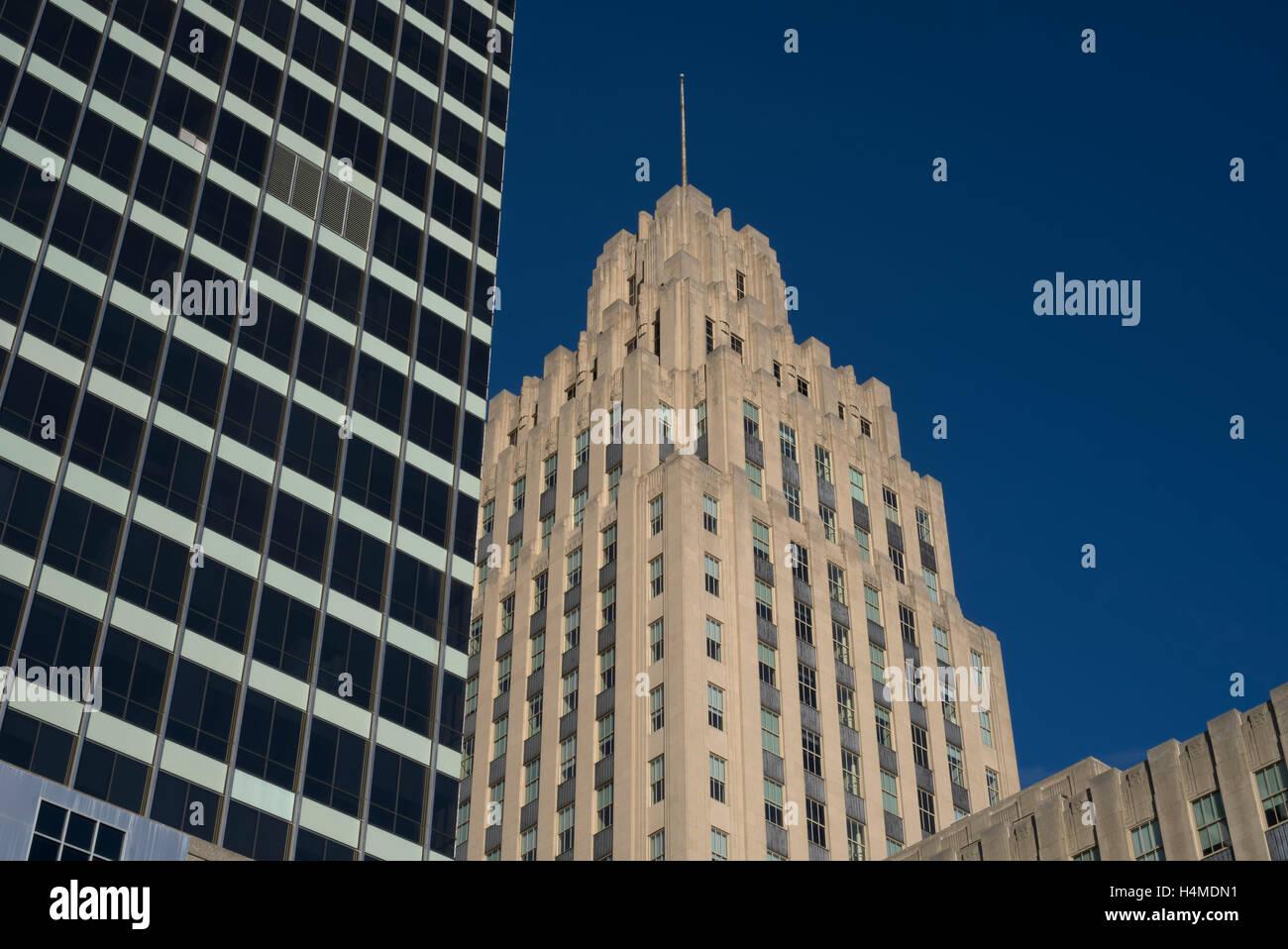 City Of Winston Salem >> Winston Tower 1966 And Rj Reynolds Building 1929 City Of