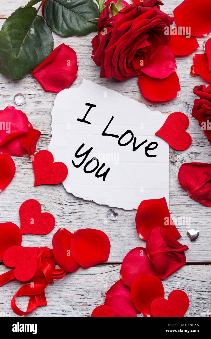 I Love You Card Stock Photos I Love You Card Stock Images Alamy