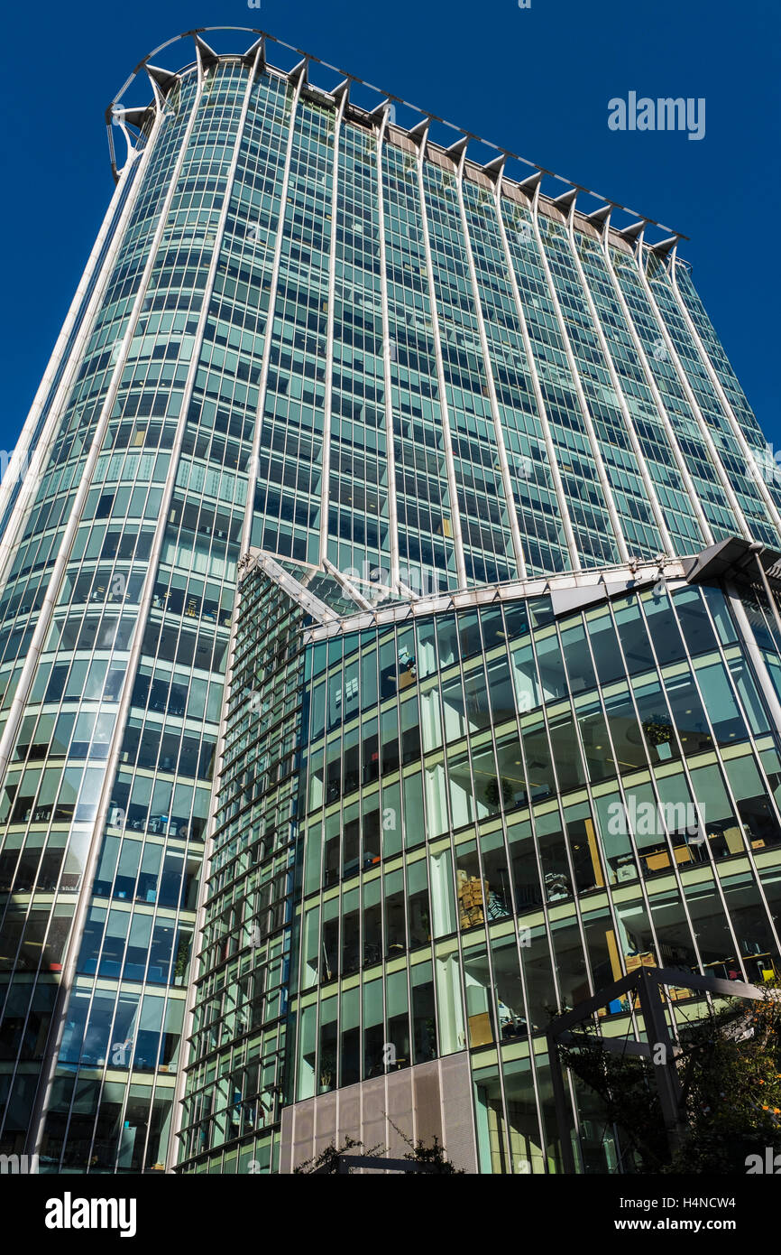 CityPoint building, London, England, U.K. - Stock Image
