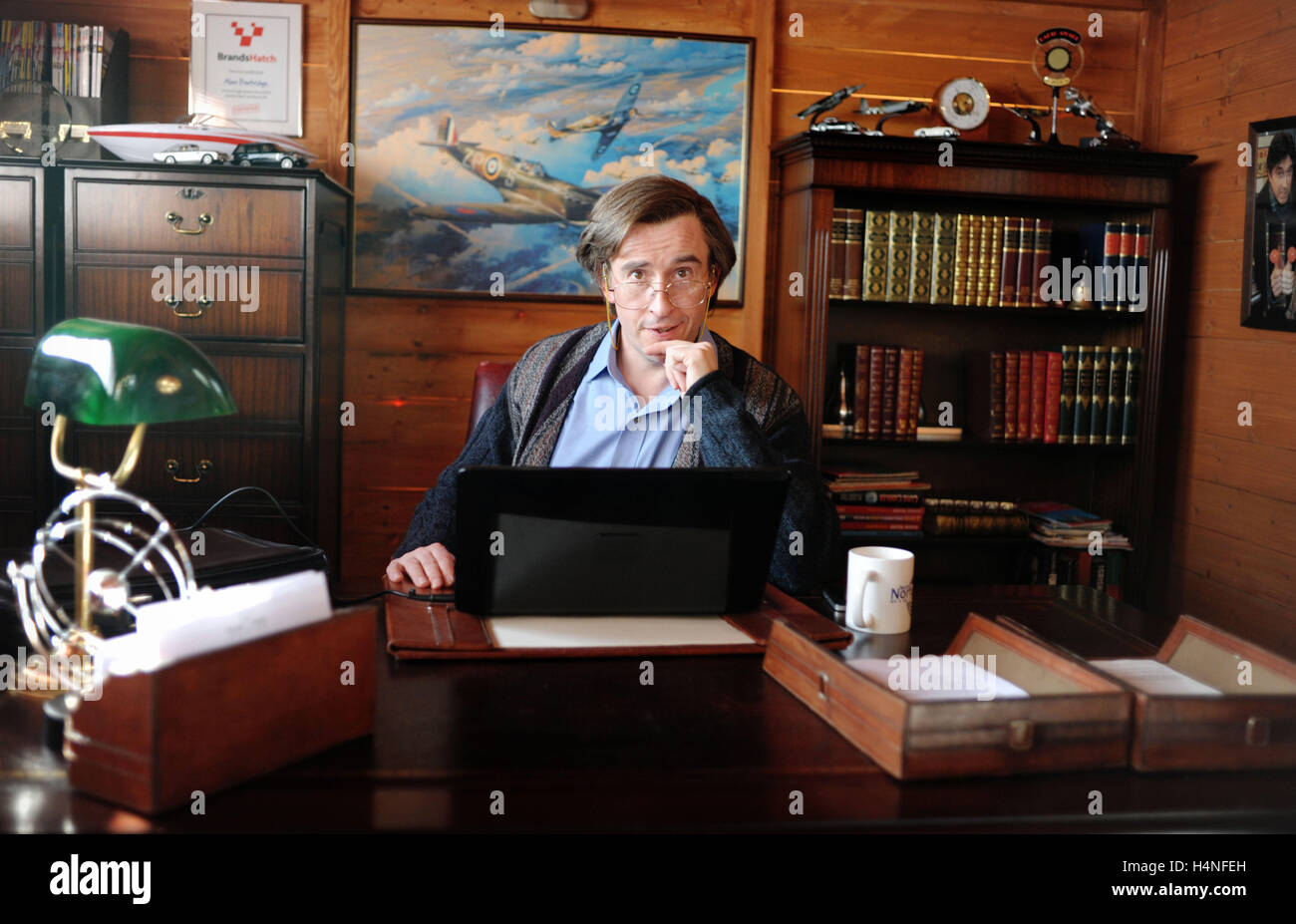 ALAN PARTRIDGE: ALPHA PAPA (2013)  STEVE COOGAN  DECLAN LOWNEY (DIR)  MOVIESTORE COLLECTION LTD - Stock Image